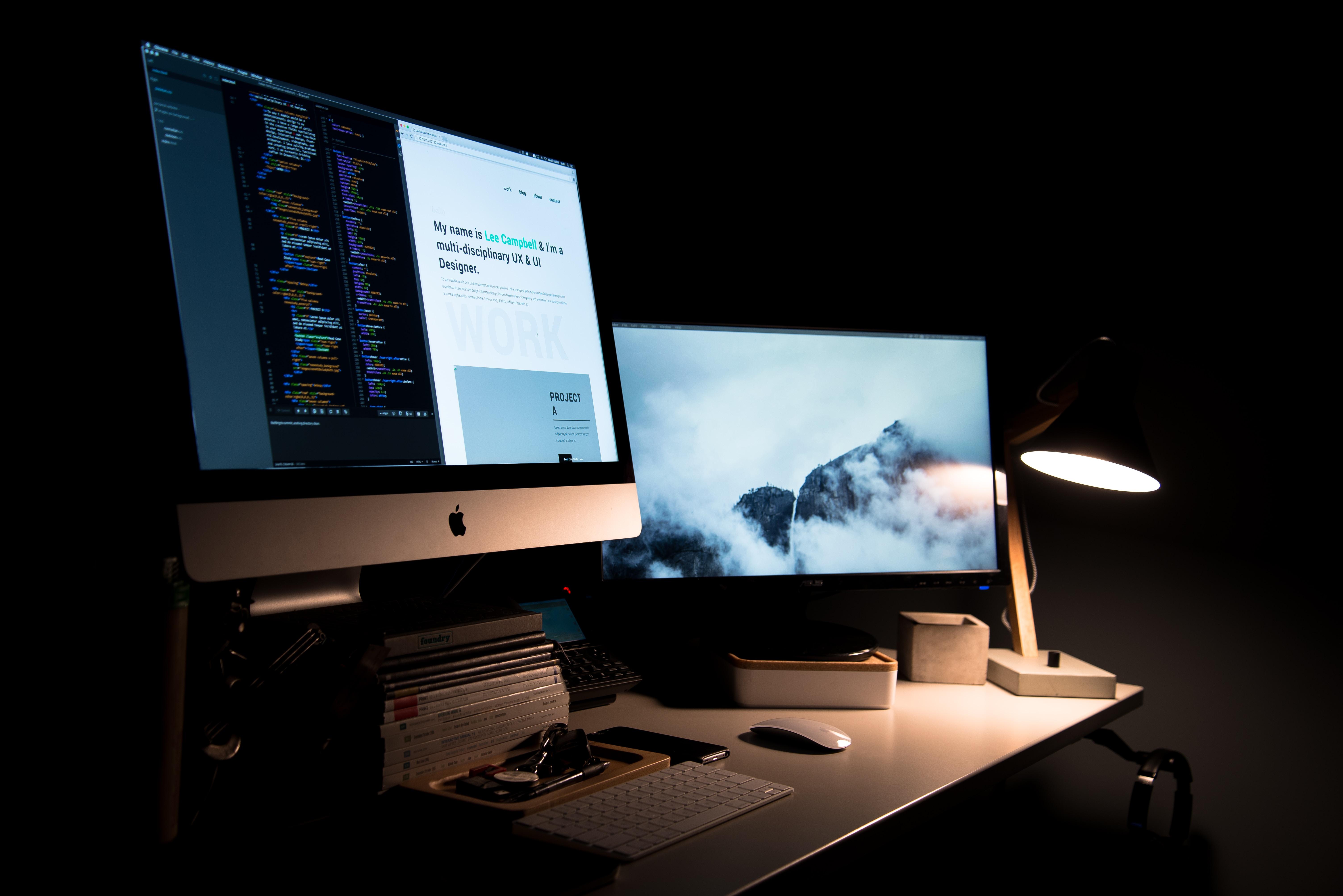 athena web design table